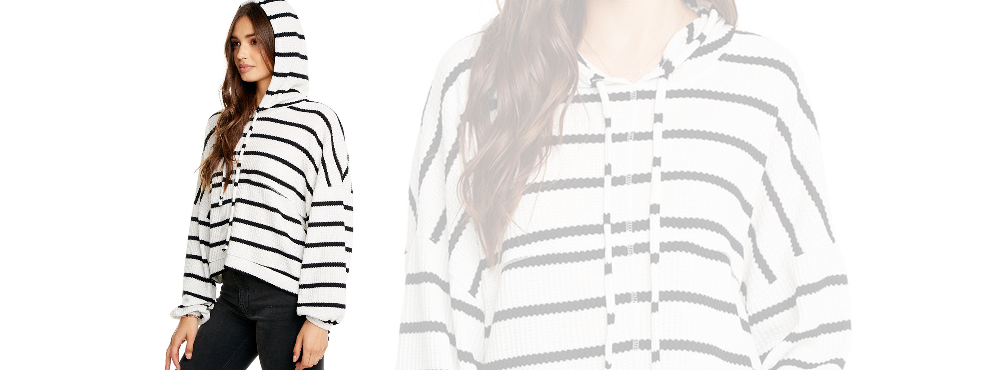 Chaser Stripes Hoodie